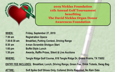 11th Annual Nicklas Foundation Charity Golf Tournament
