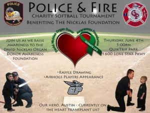 Police & Fire Charity Softball Tournament